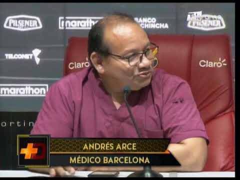 Barcelona realiza chequeos médicos a jugadores en inicio de pretemporada