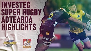 Hurricanes v Chiefs Rd.9 2020 Super rugby Aotearoa video highlights