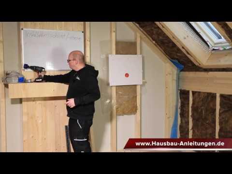Installationsebene / Installationsschicht als praktische Variante