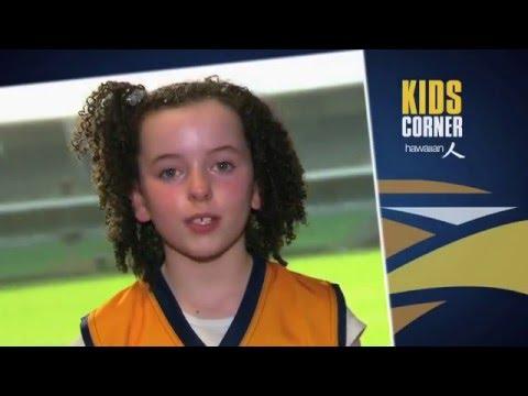 Hawaiian Kids Corner - What was your biggest footballing achievement Priddis? on YouTube
