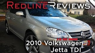 2010 Volkswagen Jetta TDI Review, Walkaround, Exhaust, Test Drive