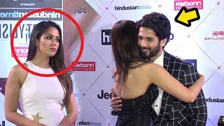 Video Shahid Kapoor's Wife Meera Rajput's JEALOUS Reaction When Shahid Hugs HOT Vani Kapoor MP3, 3GP, MP4, WEBM, AVI, FLV April 2018