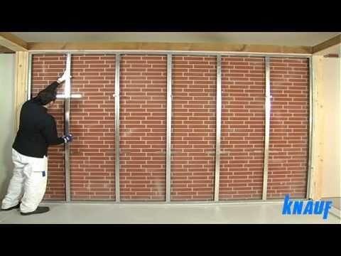 Contropareti collegamento a muro con struttura in cartongesso - coimperTV