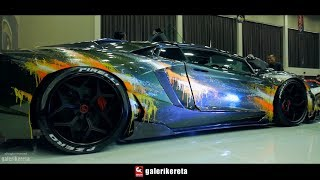 Video Custom Paint Body Lamborghini Raffi Ahmad at IAM2017 Indonesia AutoModified Jakarta MP3, 3GP, MP4, WEBM, AVI, FLV April 2019