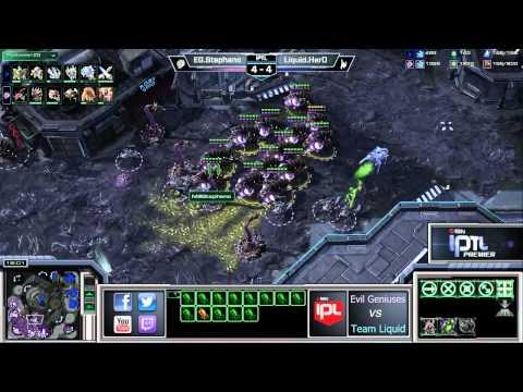 Evil Geniuses vs Team Liquid - Game 9 - IPTL Premier Group A - StarCraft 2