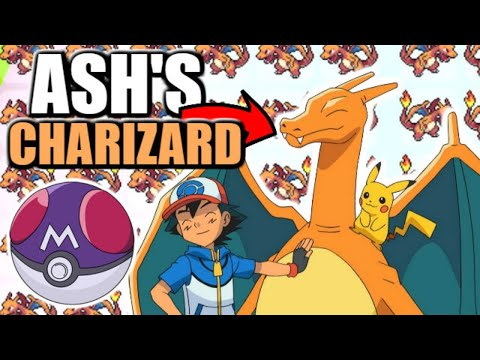 Ash's Charizard + Masterball Giveaway (KOREA EVENT)