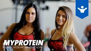 Cornebarrieu France  city photo : Fitness Girls Motivation avec Caroline CLN et Manon MMJ