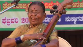 Burrakatha (ಬುರ್ರಕಥಾ) by Jayamma.. a well known folklore artist in Karnataka