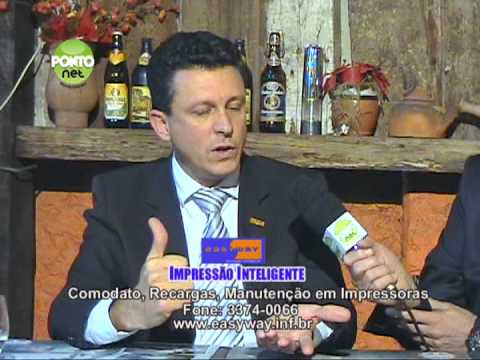 Ricardo Orlandini conversa com Robinson Oscar Klein, presidente da Assespro-RS