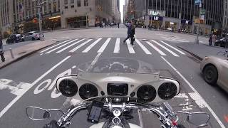 9. 2012 Yamaha Road Star Silverado S  - Ride Home- Manhattan to Queens 3/13/2016