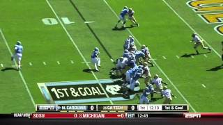 Jeremiah Attaochu vs Virgina Tech & UNC (2011)
