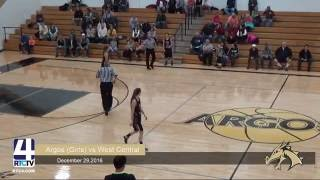 Argos Girls Basketball vs. West Central