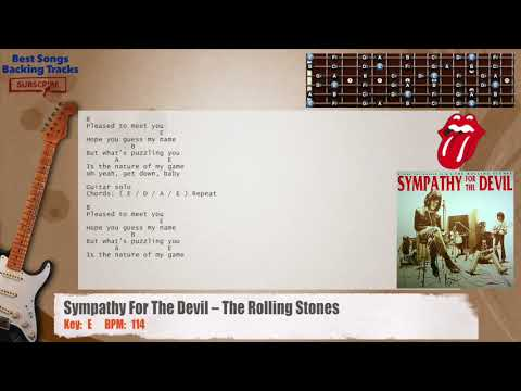 The Rolling Stones - Sympathy For The Devil (Ya Yas) - guitar cover