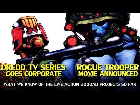 Judge Dredd TV Series Update and Rogue Trooper Movie Announced