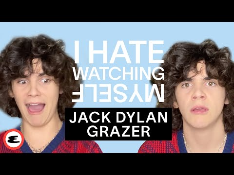 Jack Dylan Grazer Reacts to Videos of Himself | I Hate Watching Myself | Esquire