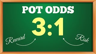 Video on calculating your pot odds
