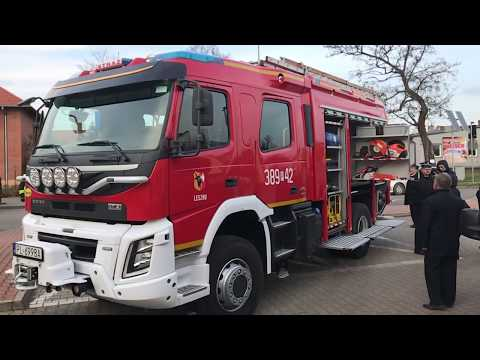 Wideo1: Nowy wóz OSP Leszno Gronowo