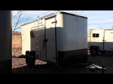 Desert Tan Black Out Off Road Trailer | Bug Out Trailer | Camp Lite Trailer
