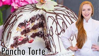 Pancho Torte - Chocolate Cherry Cake by Tatyana's Everyday Food