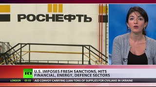 US Imposes New Sanctions On Russia Despite Ukraine Truce