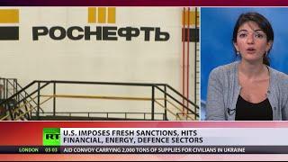 US Imposes New Sanctions On Russia Despite Ukraine Truce