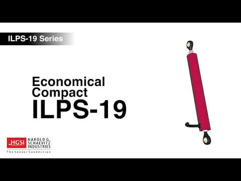 An overview of the ILPS-19 series LVIT Linear Position Sensor