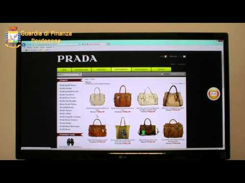 Vendite online: sequestrato sito dei falsi Prada VIDEO