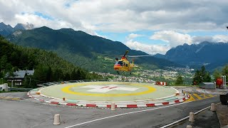 Pieve di Cadore Italy  City pictures : Elisoccorso SUEM 118 Belluno - Pieve di Cadore [1] - Italian air ambulance in emergency