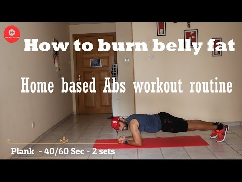 Fat burning Abs workout (No gym)