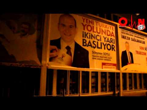 Saadet Partisi Reklamına Çirkin Saldırı