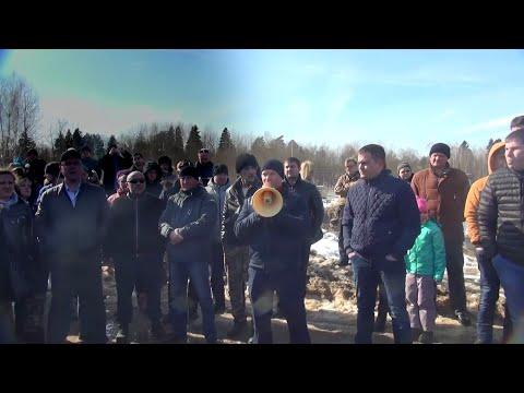 Мусорные бунты в Подмосковье (видео)