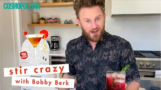 'Queer Eye' Star Bobby Berk Made You the PERFECT At Home Cocktail | Stir Crazy | Cosmopolitan by Cosmopolitan