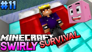 Minecraft : Swirly Survival Episode 11 - A SHOCKING DISCOVERY (Minecraft Roleplay)