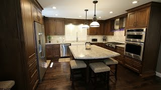Design Build Traditional Kitchen & Home Remodel in West Covina La County by APlus