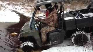 1. Polaris Ranger 800 6x6