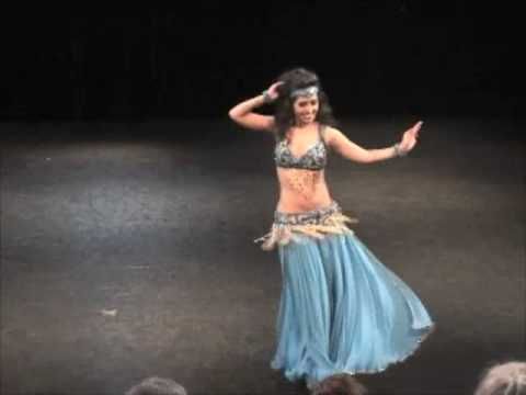 Arab belly dance