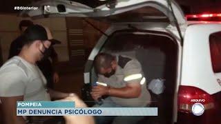 MP denuncia psicólogo que matou mulher e enteada em Pompeia