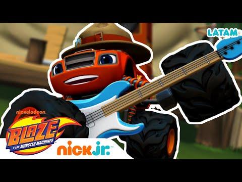 Blaze contra Robo-oso 🐻 | Blaze and the Monster Machines