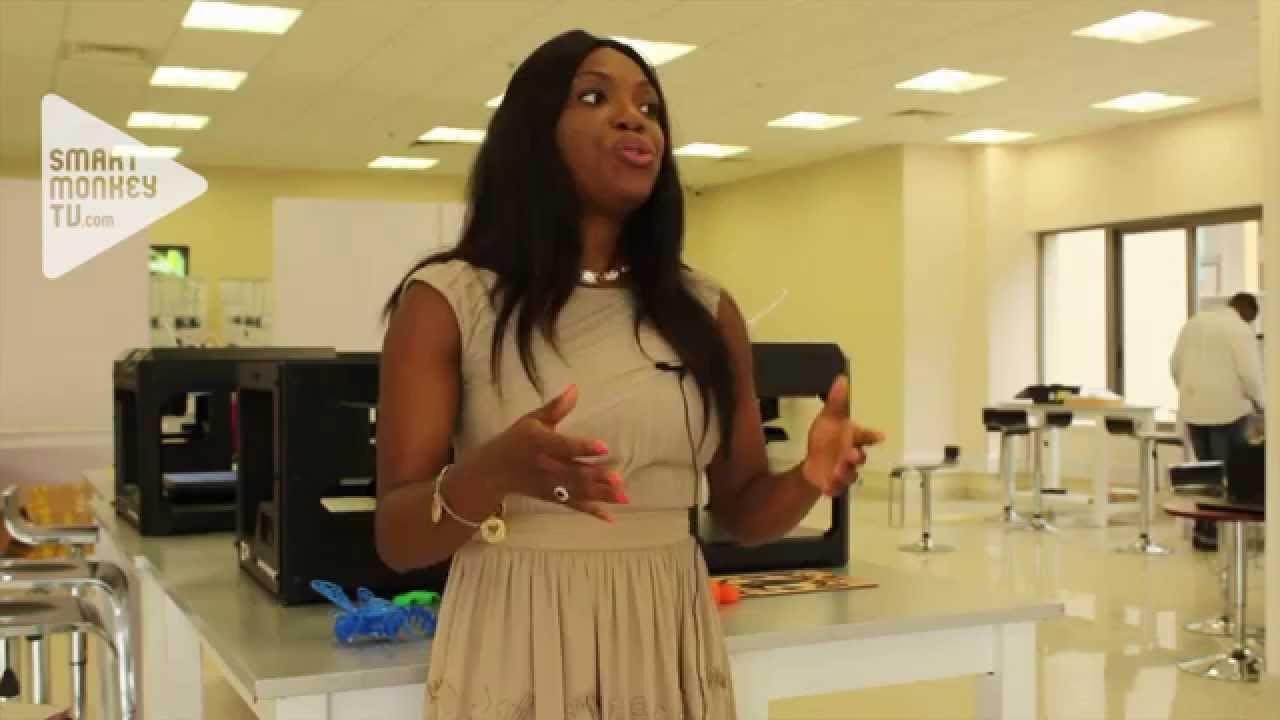Oluwadar Johnson Treseder on GE's Garage in Lagos that's looking for power generation solutions