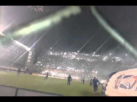 Video - La 12 Boca mi buen Amigo vs RiBer sud 14 - La 12 - Boca Juniors - Argentina