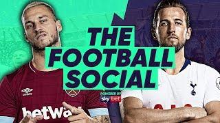 LIVE: West Ham 0-1 Tottenham   #TheFootballSocial by Football Daily