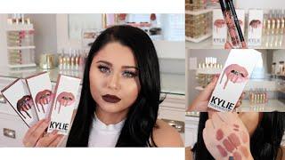 Video Kylie Lip Kit Review, Swatches, Comparisons & DUPES MP3, 3GP, MP4, WEBM, AVI, FLV Agustus 2018