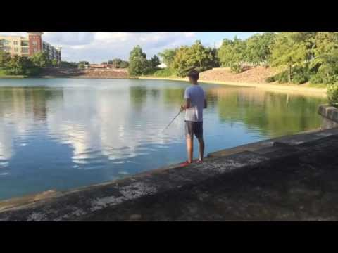 Reliant pond houston fishing for Bass fishing in ponds