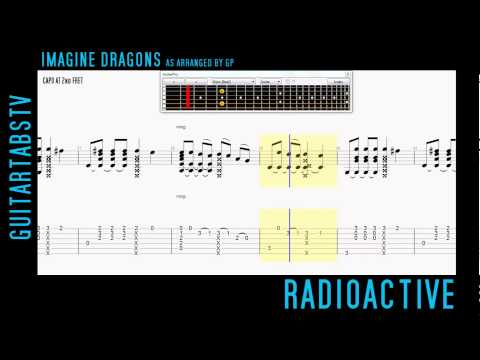 Radioactive – Imagine Dragons Fingerstyle Guitar Pro TABS
