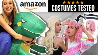 I Tried TOP RATED AMAZON HALLOWEEN COSTUMES... What's ACTUALLY Worth it?? by Rachhloves