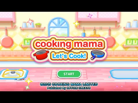 Cooking Mama Let's Cook - Combine Salisbury Steak And Cheese Omelet