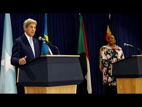 Κένυα: Συνομιλίες Τζων Κέρι για Νότιο Σουδάν