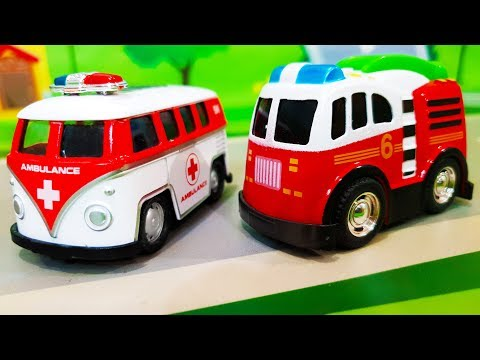 Мультики про полицейские машинки. Учим цвета вместе с  шариками. Видео для детей. lеаrn соlоrs - DomaVideo.Ru