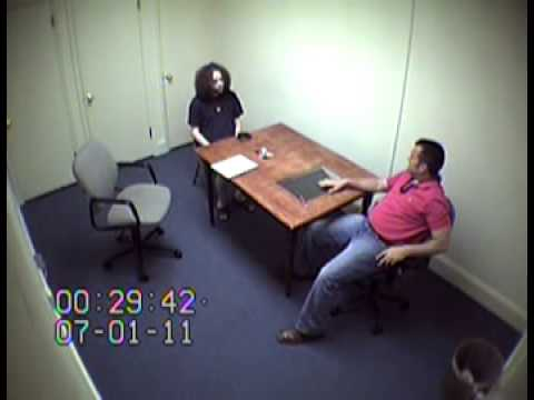 McDaniel's first interview with Macon police after Lauren Giddings' disappearance