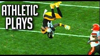 "Video NFL Best ""Athletic"" Plays || HD MP3, 3GP, MP4, WEBM, AVI, FLV Mei 2019"